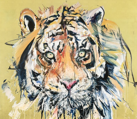 Tiger Gold Leaf Edition by Dave White