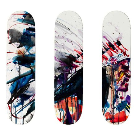 Skateboard Triptych Edition