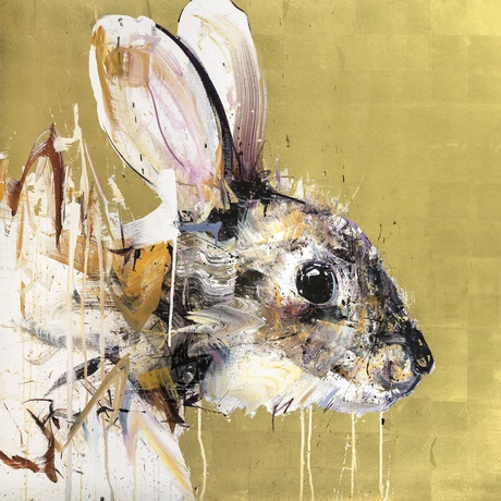 Rabbit Gold Leaf Edition