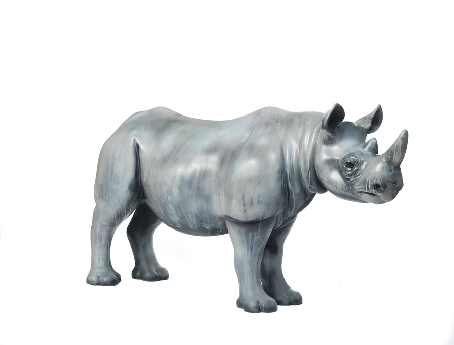Fragile by Dave White, supported by Forevermark for the Tusk Rhino Trail © Hugh Kelly.